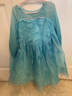 Disney frozen Elsa Halloween dress size 4 for Sale in Hialeah, FL