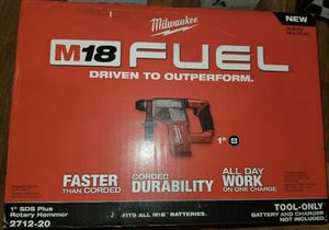 M18 FUEL 2712-20 1 in. SDS-Plus Rotary Hammer for Sale in Miami, FL