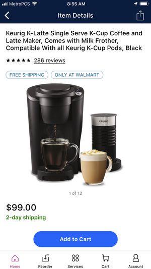 Keurig k latte for Sale in Modesto, CA