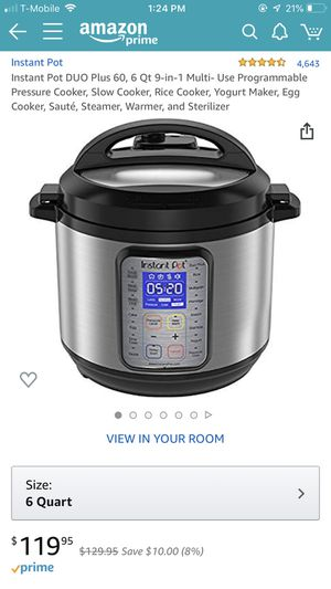 Instant pot for Sale in Irvine, CA