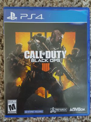 PS4 COD BLACK OPS for Sale in Westerville, OH