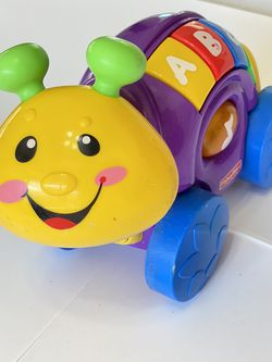 Fisher-Price Laugh & Learn Roll-Along Snail ABC Sing Along Song for Sale in Boca Raton,  FL