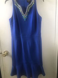 Royal Blue Sequined Dress for Sale in Bloomfield,  CT
