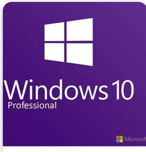 Windows 10 64 bit installation restore, re installation disc. for Sale in Lexington, SC