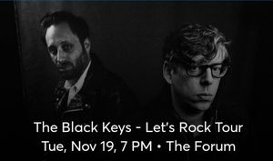 Black keys at the Forum for Sale in Monterey Park, CA