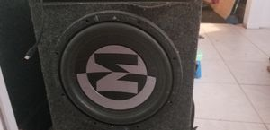 12inch woofers in box 12 Speaker mephis for Sale in Lake Worth, FL