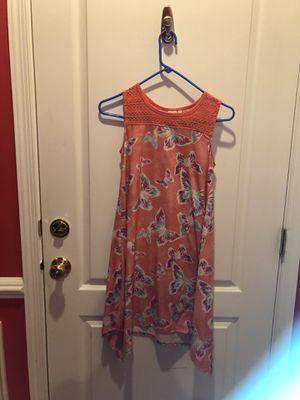 Pink/ orange butterfly dress for Sale in Sterling, VA