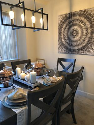 Dining Table and 6 Chairs for Sale in Arlington, VA