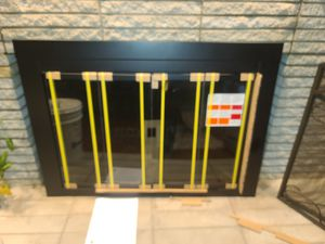 Fireplace Galss door and screen for Sale in Hampton, VA