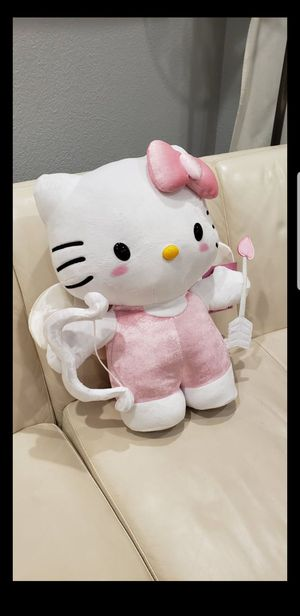"Large 19"" Hello Kitty Sanrio Cupid Valentine's day stuffed animal for Sale in Ontario, CA"