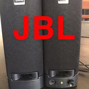 JBL DESK TOP SPEAKERS, THEIR LOUD. for Sale in Orange, CA