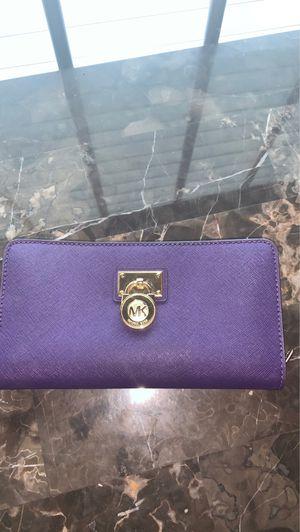 Purple Micheal Kors Designer Wallet for Sale in Newnan, GA