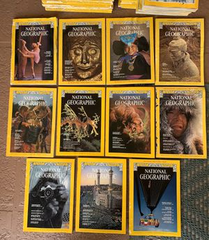 11 vintage 1978 National Geographic Magazines for Sale in Fort Lauderdale, FL