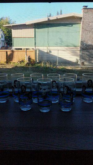 Old School Seattle Seahawks glasses. for Sale in Tukwila, WA