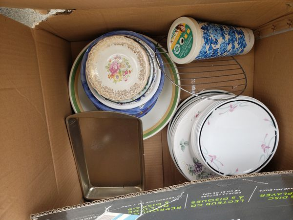 Assorted items for free