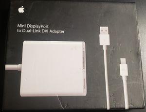Apple - Mini DisplayPort to Dual-Link DVI Adapter for Sale in Lafayette, LA