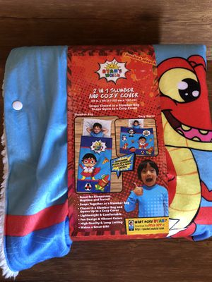 Ryan's world 2 in 1 slumber and cozy cover for Sale in Palmdale, CA
