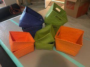 Toy storage baskets for Sale in Cumming, GA