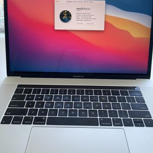 Apple MacBook Pro 15-Inch, 2019, Silver for Sale in Daly City, CA