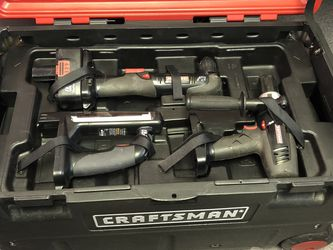 Craftsman 6-piece, 19.2V Cordless Tool Set for Sale in Seattle,  WA