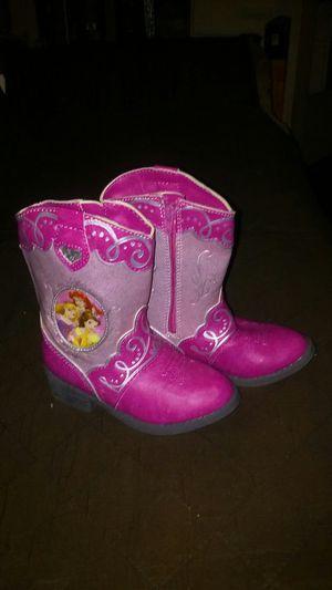 Girl's Disney Princess Boots for Sale in Pomona, CA
