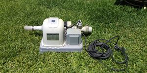 Pool pump and salt system Filter/Summer/Intex Krystal Clear Delux Saltwater System for avobe ground Pools for Sale in Baldwin Park, CA