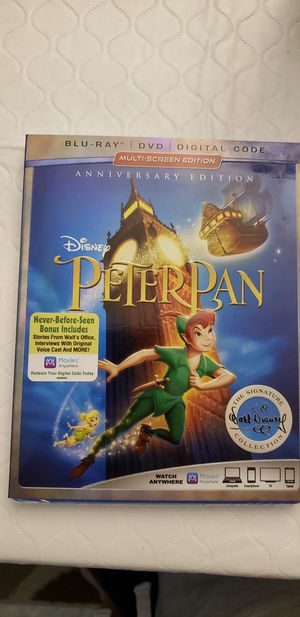 Disney Anniversary Edition of Peter Pan for Sale in Fort Lauderdale, FL