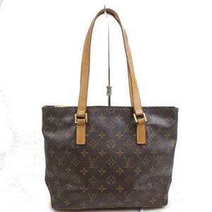 Authentic Louis Vuitton Cabas Piano M51148 Brown Monogram Tote Bag 11338 for Sale in Plano, TX