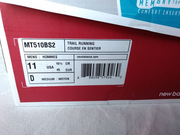 New Balance Running shoes like New size 11 D