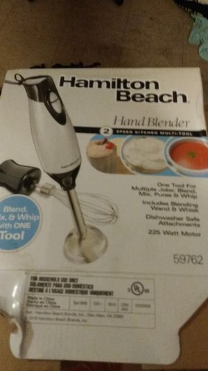 Hamilton beach hand blender for Sale in Cleveland, OH