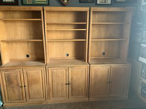 Wooden Hutch with Storage Cabinet up to 3 available for Sale in Henderson, NV