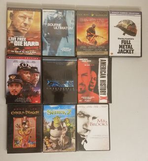 10 DVD Movies **New (Unopened)** for Sale in Los Angeles, CA