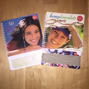 Hair Wraps and Hemp Bracelets Book Bundle for Sale in Cary, NC