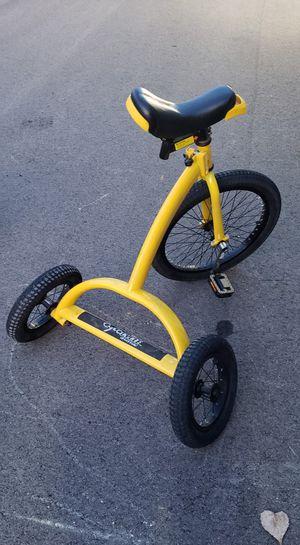 "Cyco cycle 20"" 3 wheel trike unicycle fold down bike for Sale in Monroe, MI"
