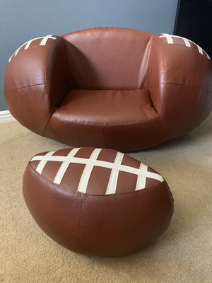 Kids Leather Football Chair for Sale in Hemet, CA