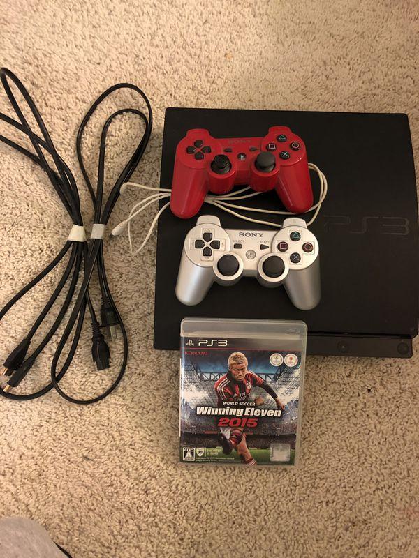 PS3 Slim ver (great condition)