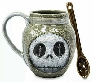 Nightmare before Christmas mug and spoon set for Sale in Freedom, PA