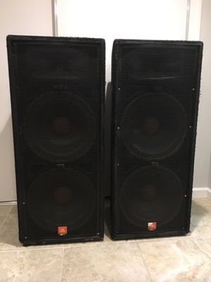 JBL JRX125 pair for Sale in Falls Church, VA