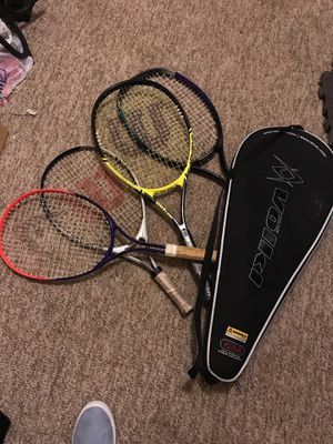Tennis rackets and case for Sale in West Haven, CT