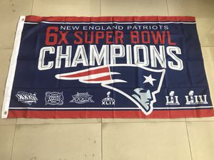 New England Patriots Super Bowl Flag for Sale in Saugus, MA