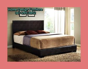 Brand New Leather Bed With Orthopedic Mattress For $300!!!! for Sale in Queens, NY