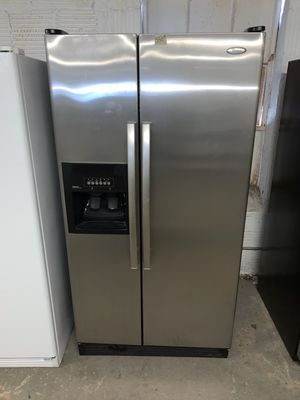 📢📢Whirlpool Refrigerator Fridge 36 in. Wide Works Perfect #1364📢📢 for Sale in Owings Mills, MD