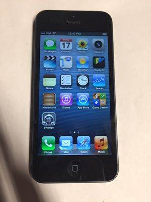Cricket / AT&T Apple iPhone 5 for Sale in Rialto, CA