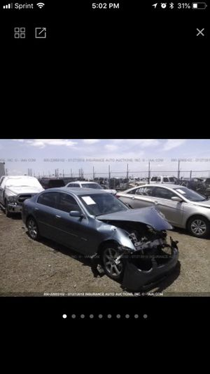 🔥2005 Infiniti G35🔥Parts Only for Sale in Phoenix, AZ
