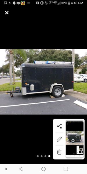 5×10 Enclosed Trailer for Sale in NEW PRT RCHY, FL