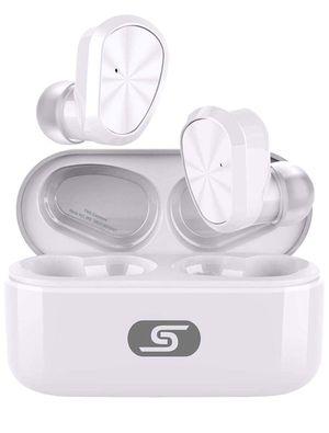 Brand New In Box True Bluetooth 5.0 Wireless Earbuds Headset W9 True Wireless Earphones for iPhone/Samsung IPX7 Waterproof Smart for Sale in Hayward, CA