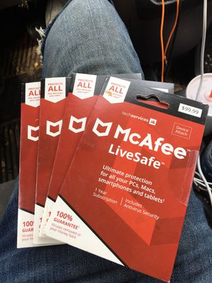 McAfee virus protection for Sale in Indianapolis, IN