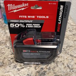 Milwaukee Battery Highest One In It's Class for Sale in Yakima,  WA