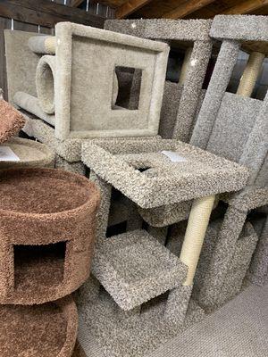 Cat trees/ cat stand triple perch/ cat house/ cat condos for Sale in Phoenix, AZ
