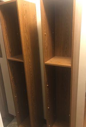 2, 6x1x1 bookshelves for Sale in Salt Lake City, UT